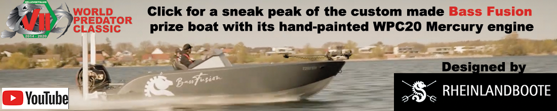 WPC21 Bass Fusion prize boat
